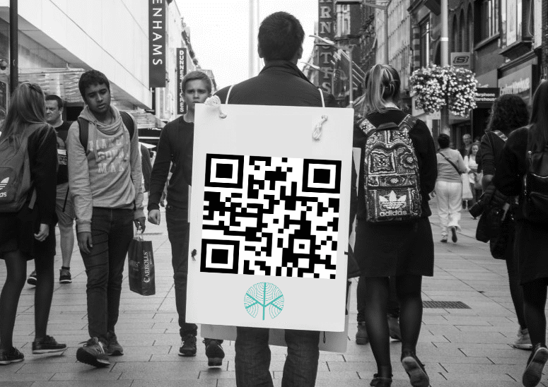 Street Marketing QR Code